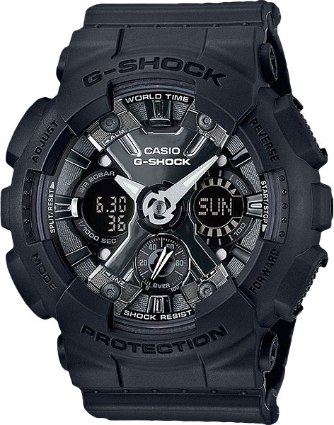 Casio G-shock GMA-S120MF-1A часы женские casio g shock gma s110mp 4a3 pink
