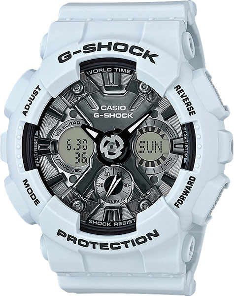Casio G-shock GMA-S120MF-2A часы женские casio g shock gma s110mp 4a3 pink