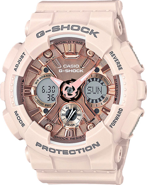 Casio G-shock GMA-S120MF-4A часы женские casio g shock gma s110mp 4a3 pink