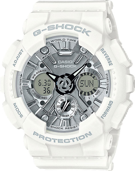 Casio G-shock GMA-S120MF-7A1 часы женские casio g shock gma s110mp 4a3 pink