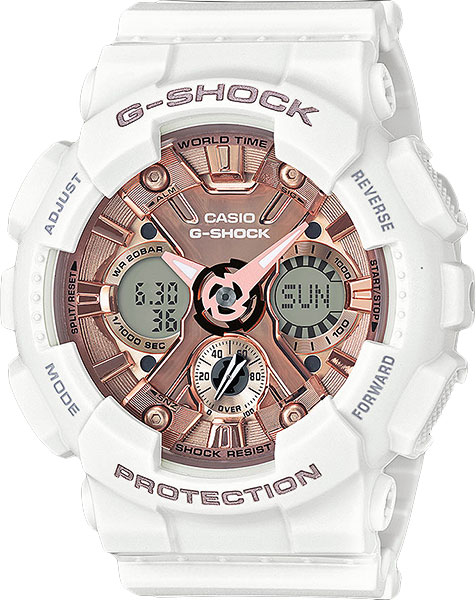 Casio G-shock S Series GMA-S120MF-7A2 casio часы casio gma s110mc 6a коллекция g shock