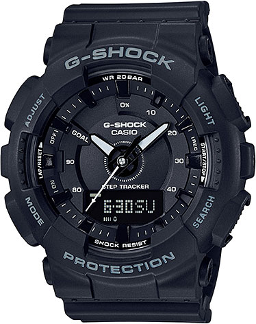 Casio G-shock GMA-S130-1A часы женские casio g shock gma s110mp 4a3 pink