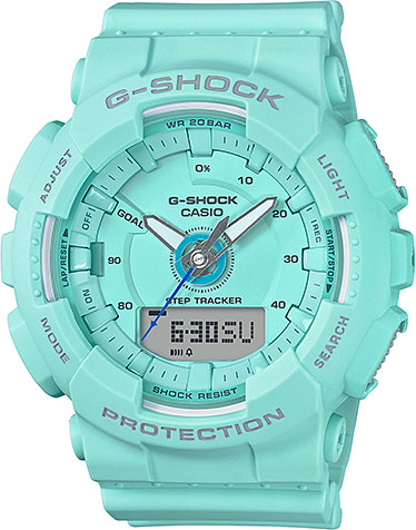 Casio G-shock GMA-S130-2A часы женские casio g shock gma s110mp 4a3 pink