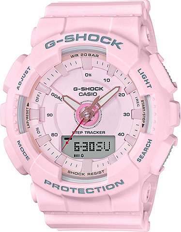 Casio G-shock S Series GMA-S130-4A casio часы casio gma s110mc 6a коллекция g shock