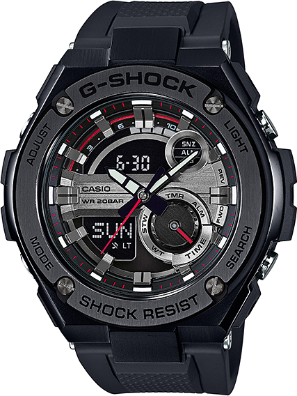 Casio G-shock G-Steel GST-210B-1A цена и фото