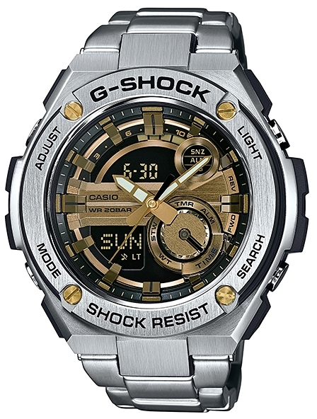 Casio G-shock G-Steel GST-210D-9A поглотители запаха