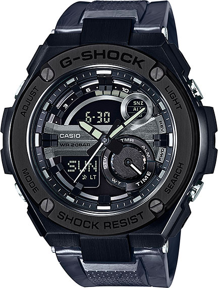 Casio G-shock GST-210M-1A цена и фото