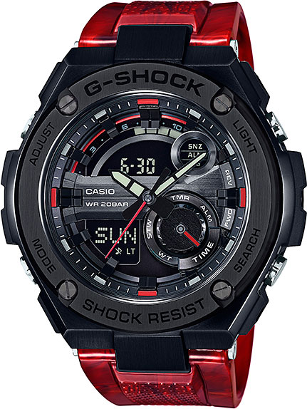 Casio G-shock GST-210M-4A цена и фото
