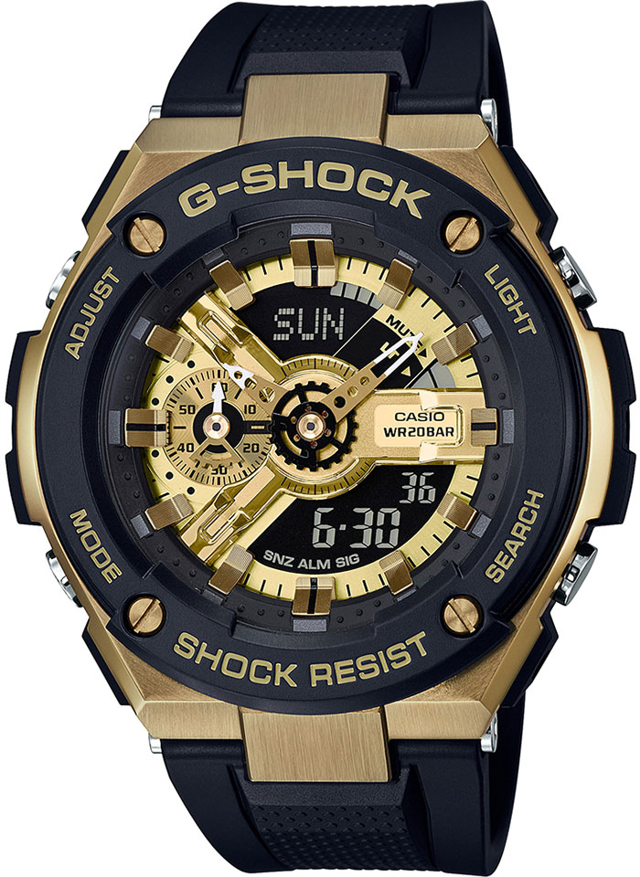Casio G-shock G-Steel GST-400G-1A9 casio g shock ga 700se 1a9