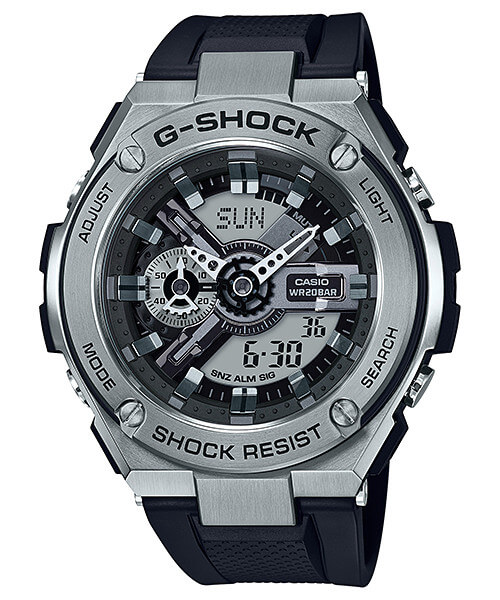 Casio G-shock G-Steel GST-410-1A casio g shock g classic ga 110mb 1a