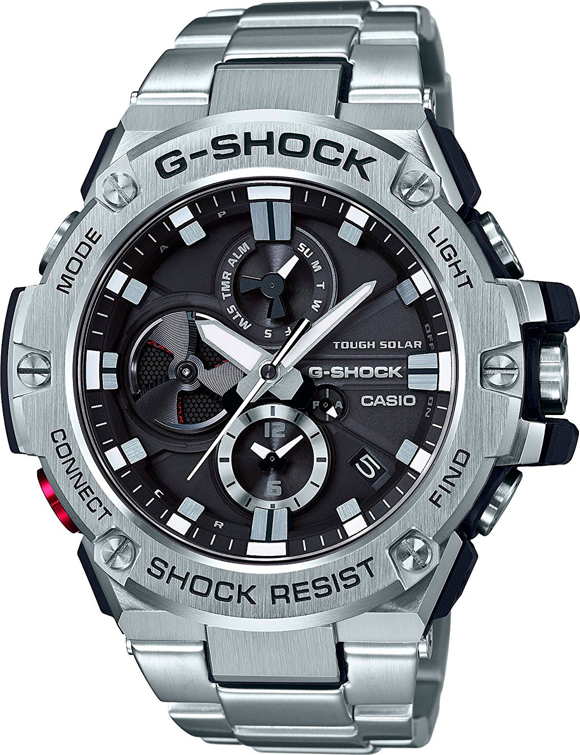 Casio G-shock G-Steel GST-B100D-1A цена и фото