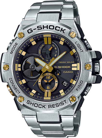 Casio G-shock G-Steel GST-B100D-1A9 цена и фото