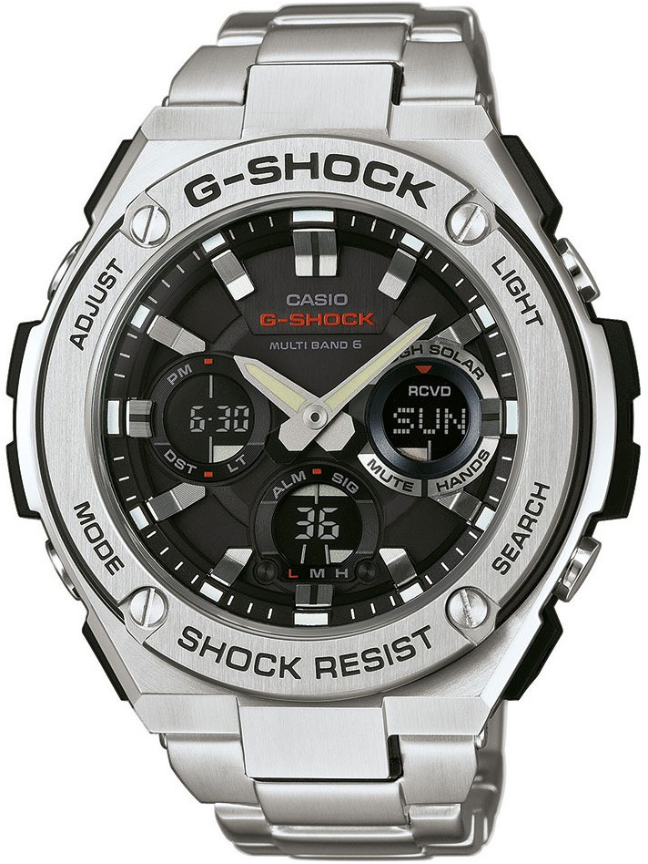 Casio G-shock G-Steel GST-W110D-1A дрель шуруповерт bort bab 14ux2li fdk