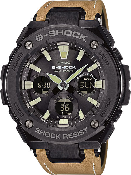 Casio G-Shock G-Steel GST-W120L-1B цена и фото