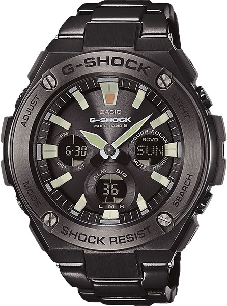 Casio G-Shock G-Steel GST-W130BD-1A цена и фото