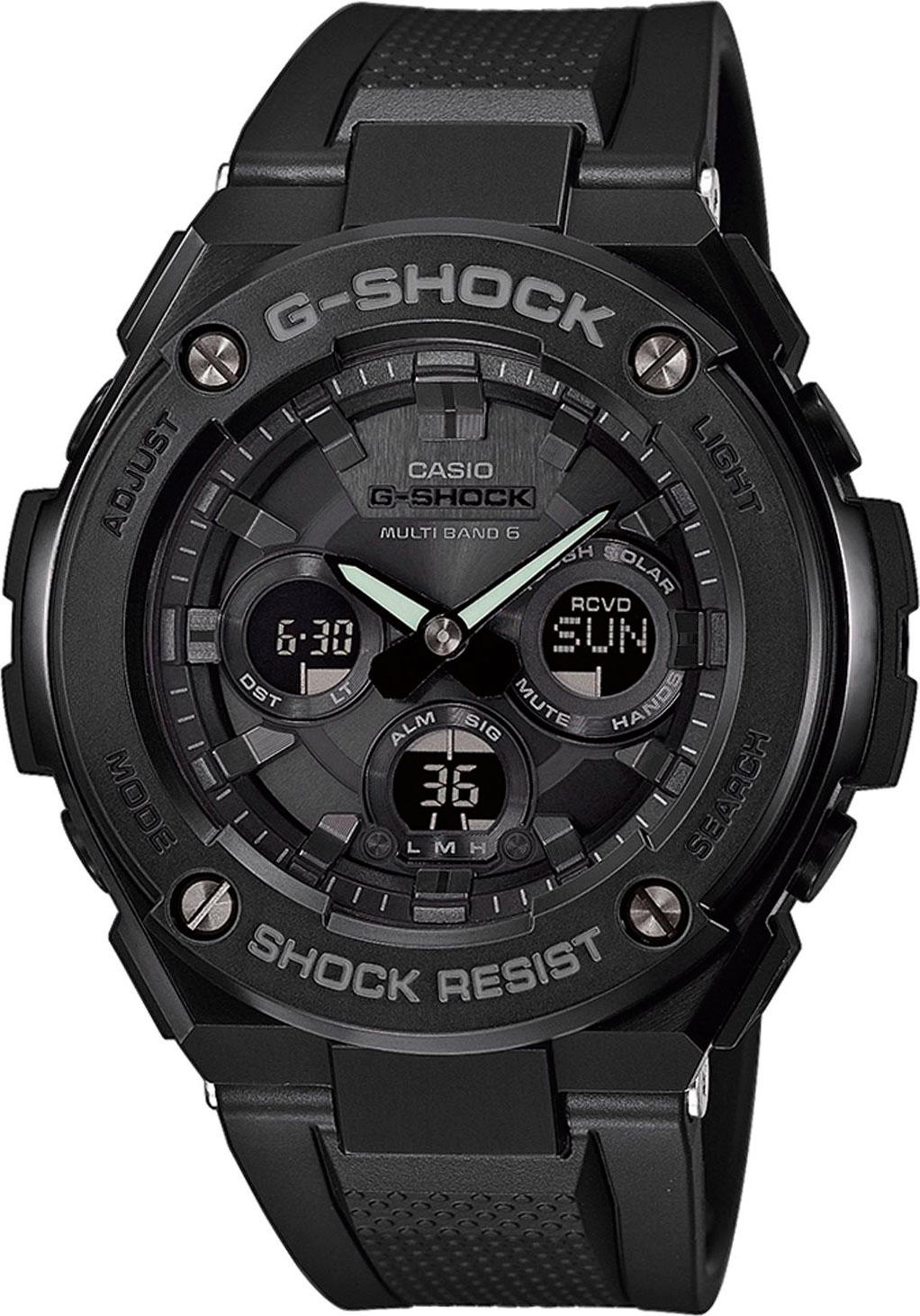 Casio G-shock G-Steel GST-W300G-1A1 цена и фото