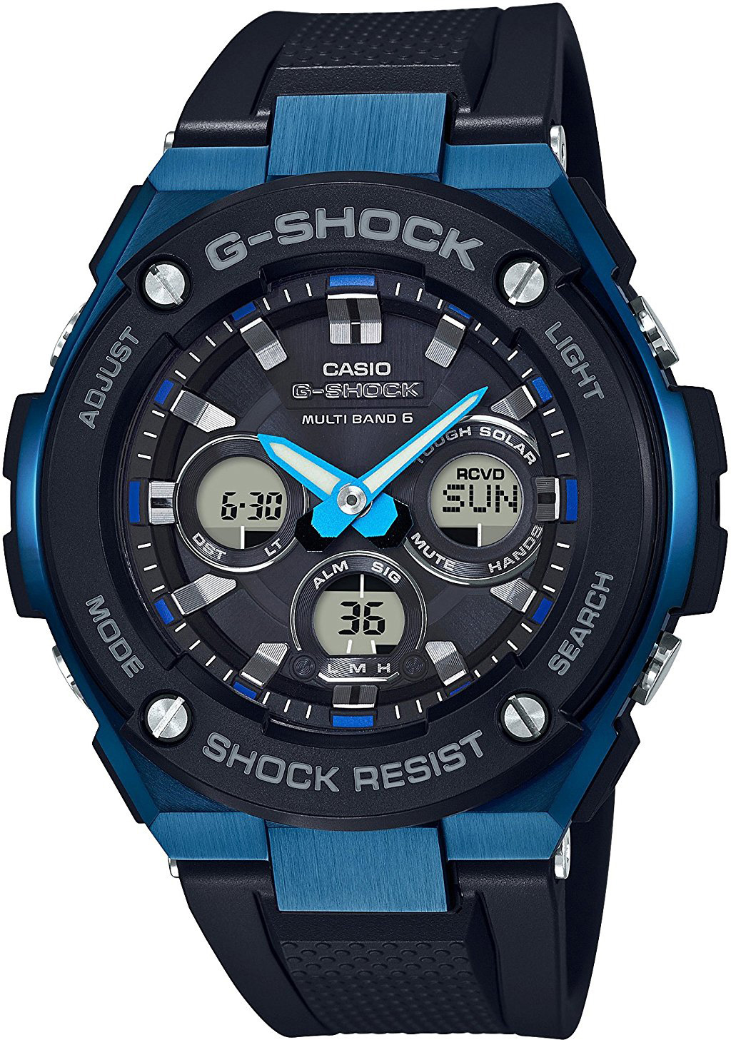 Casio G-shock G-Steel GST-W300G-1A2 цена и фото