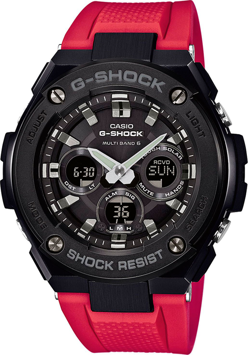 цена Casio G-shock G-Steel GST-W300G-1A4 онлайн в 2017 году