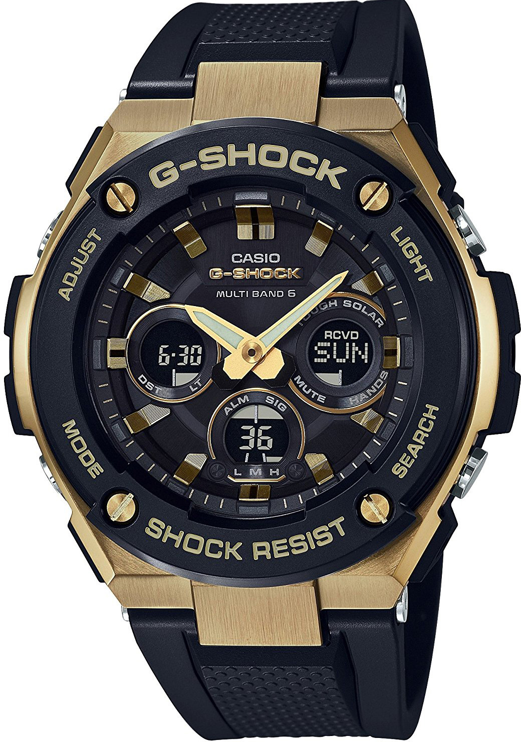 Casio G-shock G-Steel GST-W300G-1A9 цена и фото