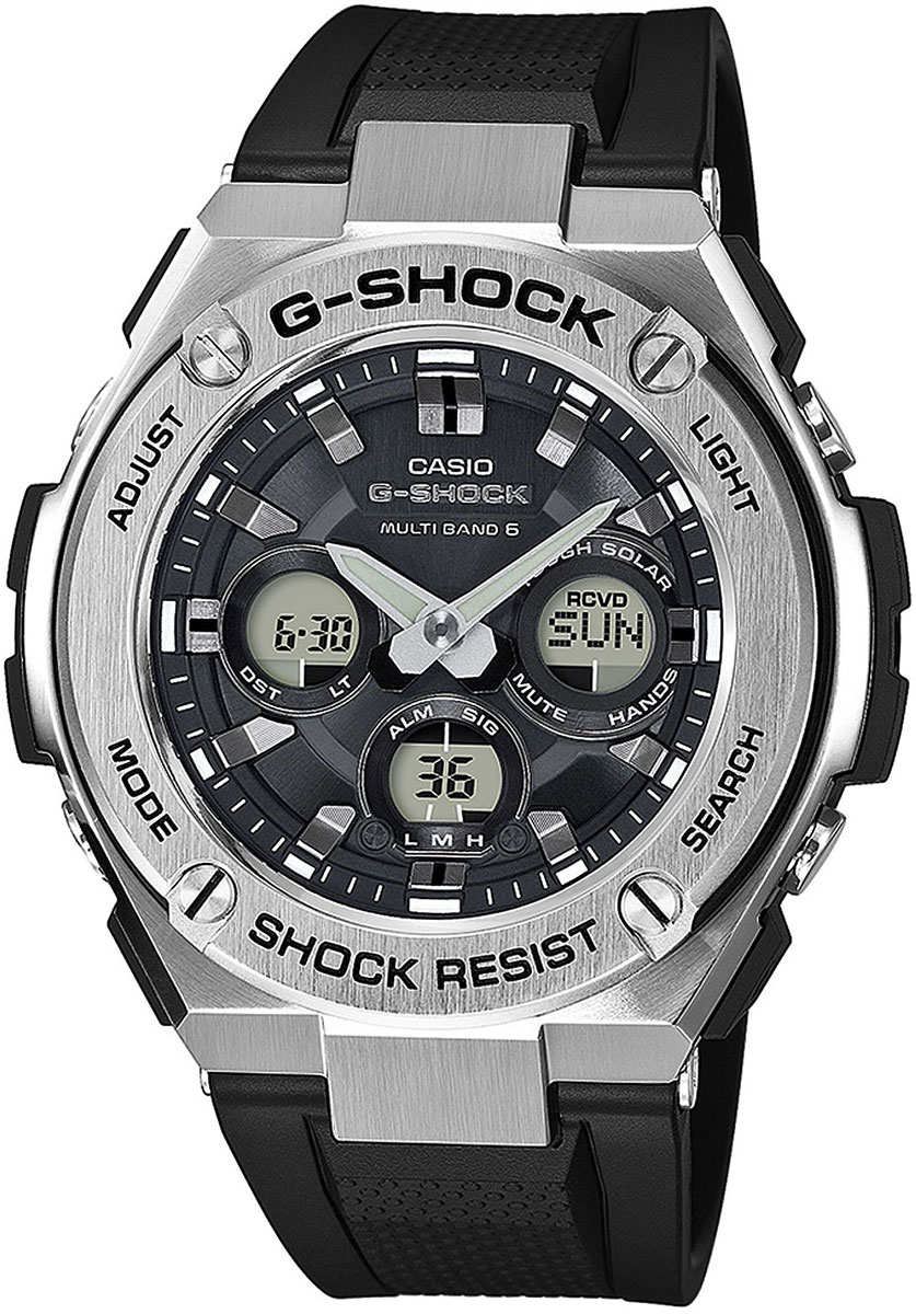 Casio G-shock GST-W310-1A цена и фото