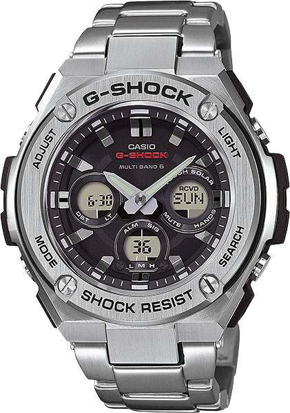 Casio G-shock G-Steel GST-W310D-1A галстуки page 8