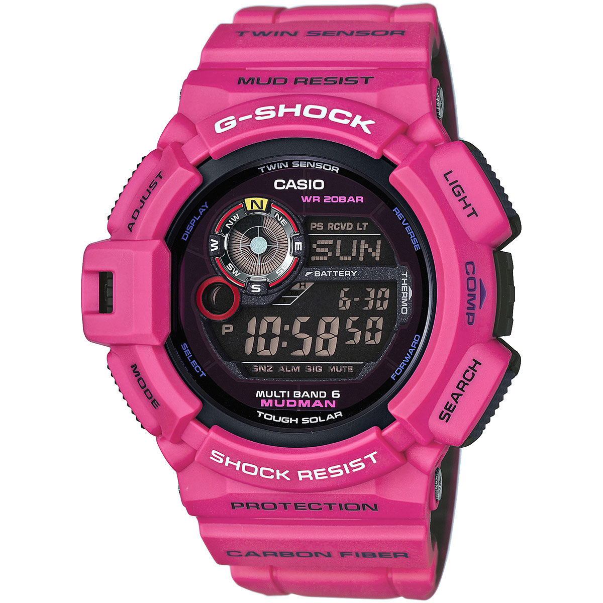 Casio G-shock Mudman GW-9300SR-4E abnormal psychology 4e