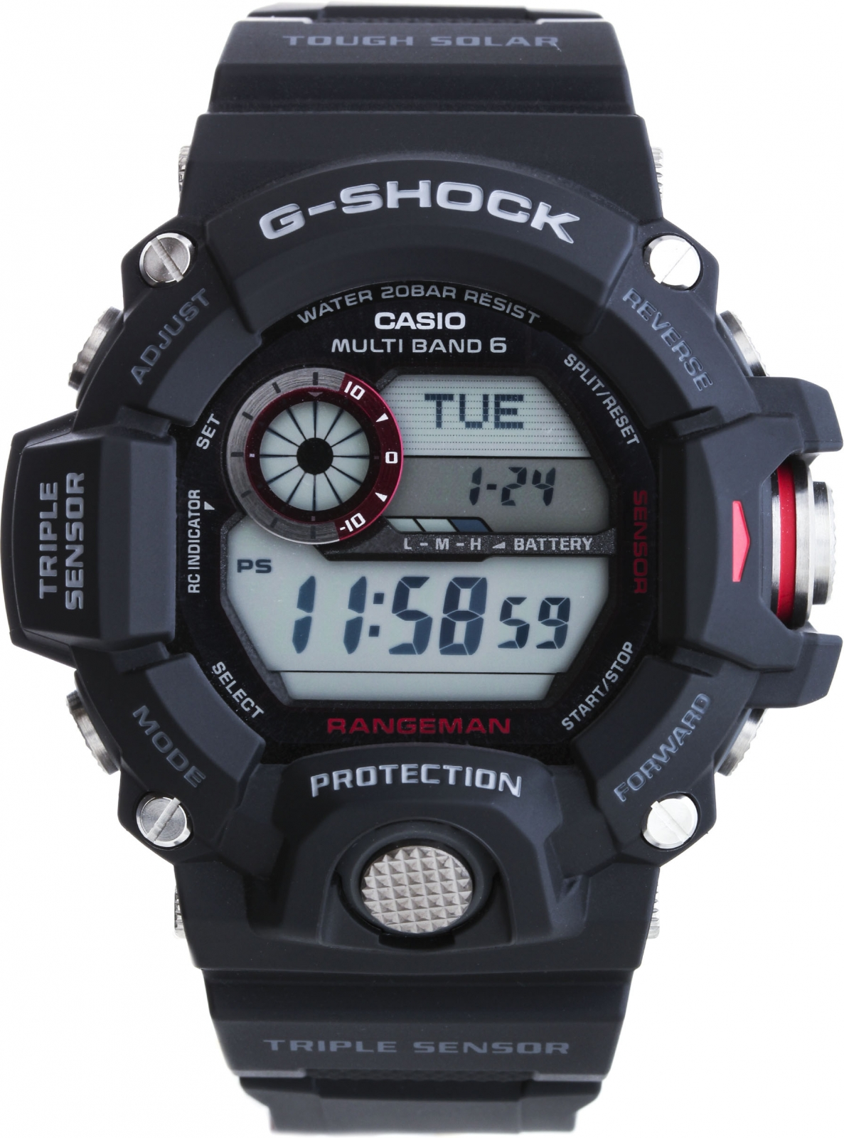 Casio G-shock GW-9400-1E часы g shock dw 5600hr 1e casio