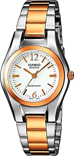 Casio LTP-1280PSG-7A часы casio collection ltp 1280psg 9a grey gold