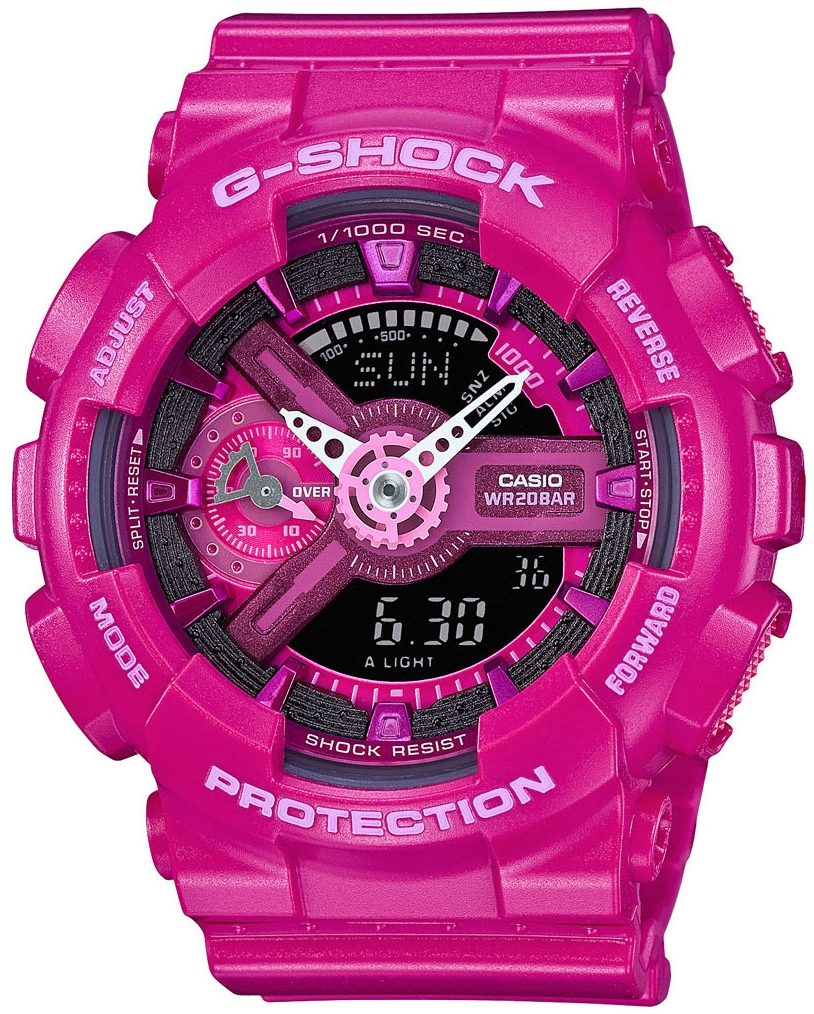 Casio G-shock S Series GMA-S110MP-4A3 часы женские casio g shock gma s110mp 4a3 pink