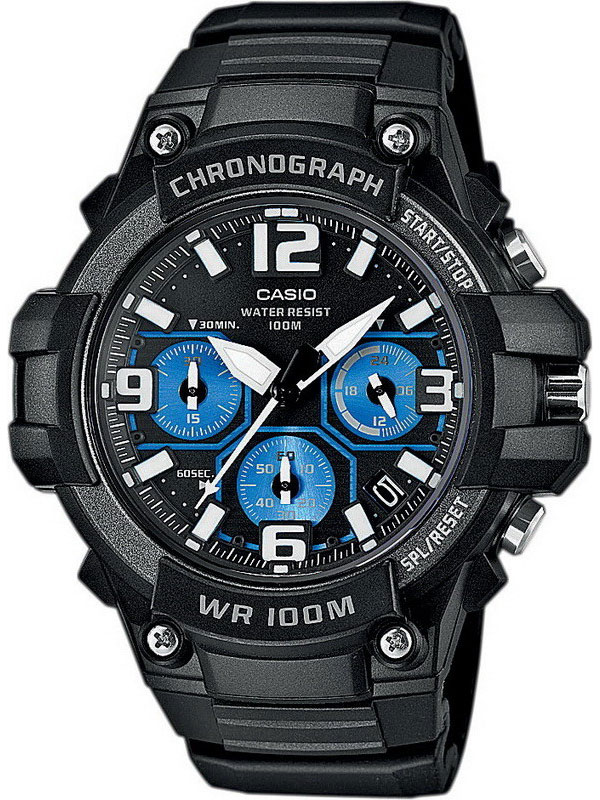 Casio MCW-100H-1A2 электронные часы casio collection mcw 200h 9a