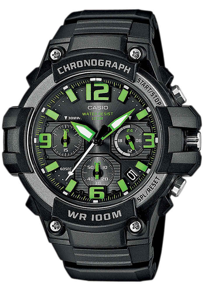 Casio MCW-100H-3A часы casio collection mcw 100h 3a black green
