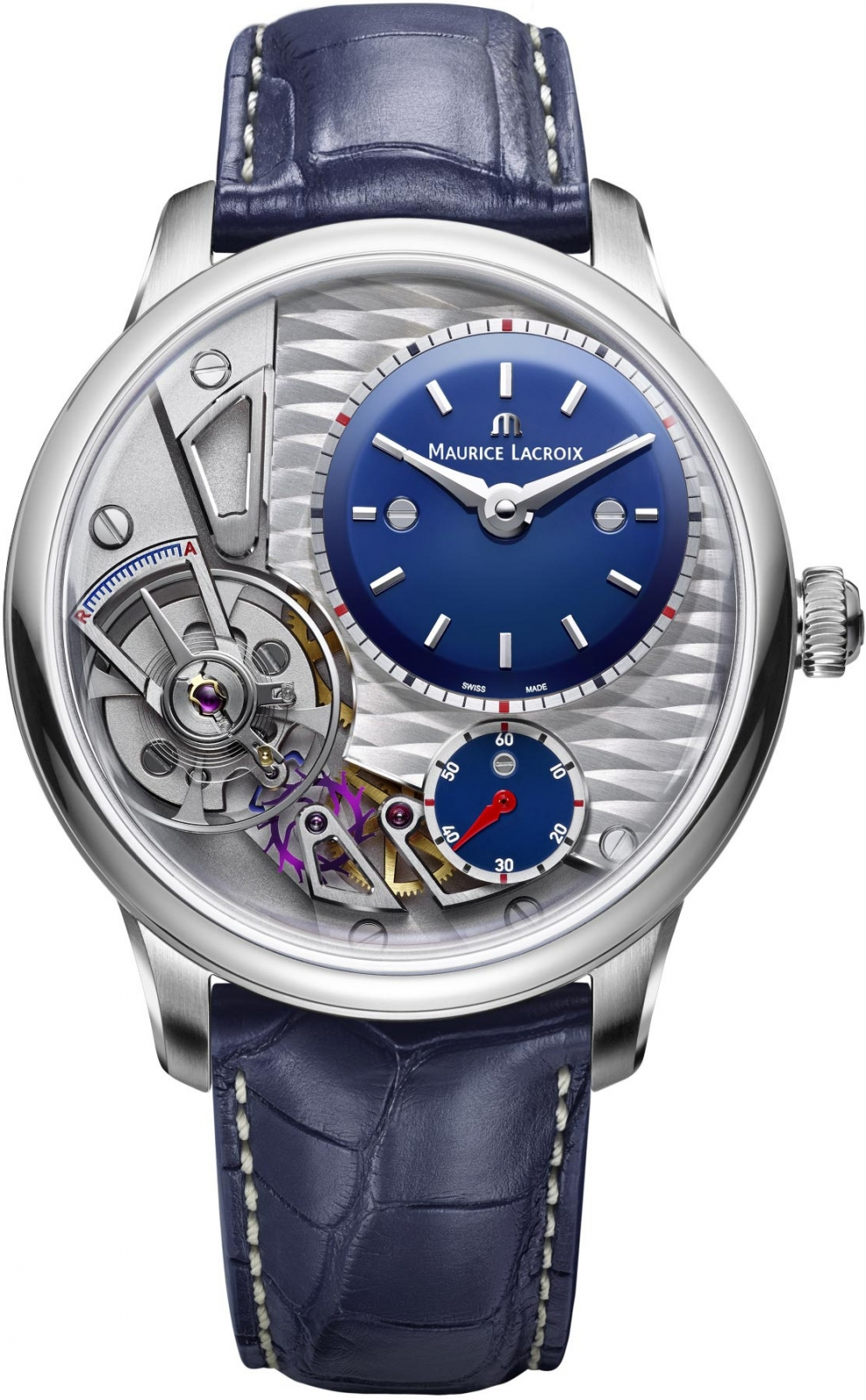 Maurice Lacroix Masterpiece Gravity MP6118-SS001-434-1 maurice lacroix masterpiece mp6028 ss001 002 1