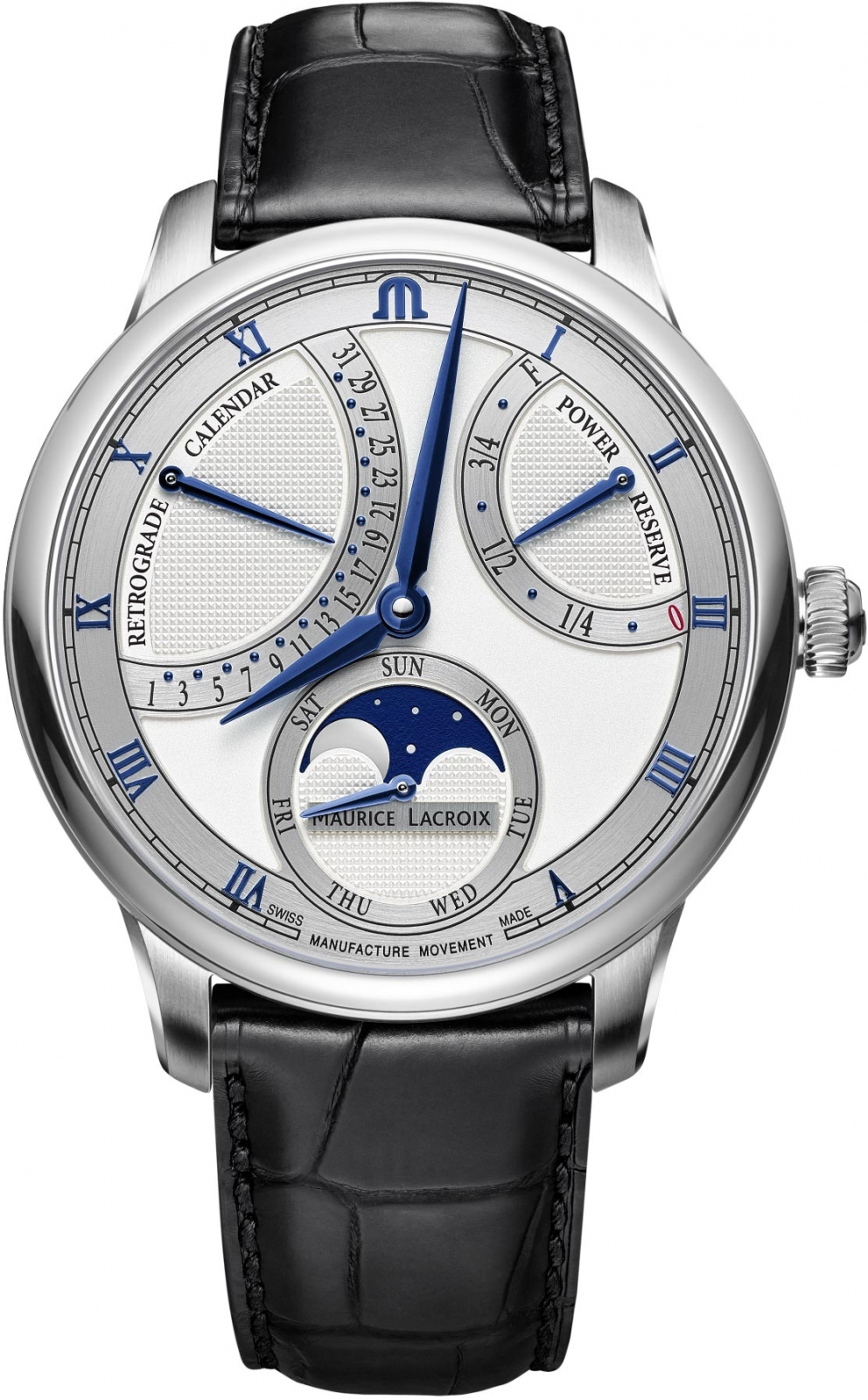 Maurice Lacroix Masterpiece MP6588-SS001-131-1 maurice lacroix masterpiece mp6707 ss001 112