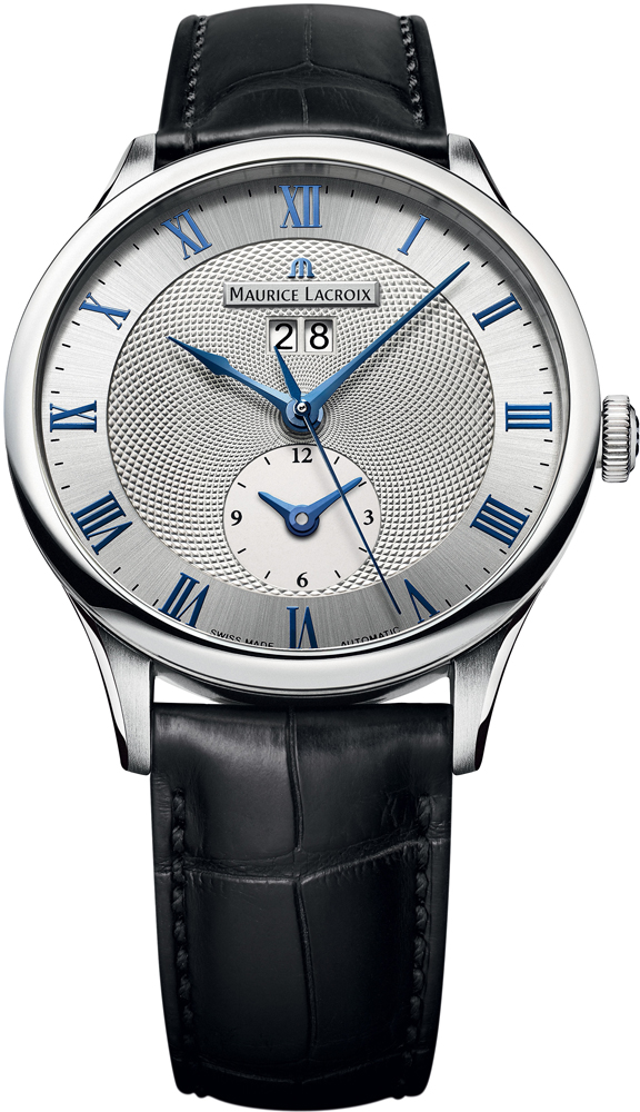 Maurice Lacroix Masterpiece Tradition Date GMT MP6707-SS001-110-1 maurice lacroix el1108 ss001 110 1