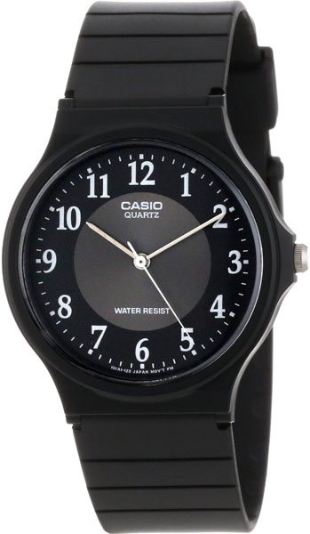 Casio MQ-24-1B3 кварцевые часы casio collection mq 24 1b3 black