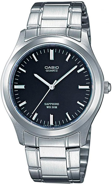 Casio MTP-1200A-1A часы casio collection mtp 1200a 1a silver black