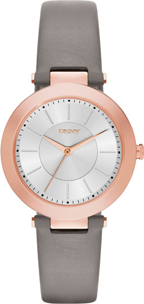 DKNYStanhope NY2296 brand reloj mujer leather strap women watches hours casual square clock rose gold quartz ladies watch luxury dress wrist watch