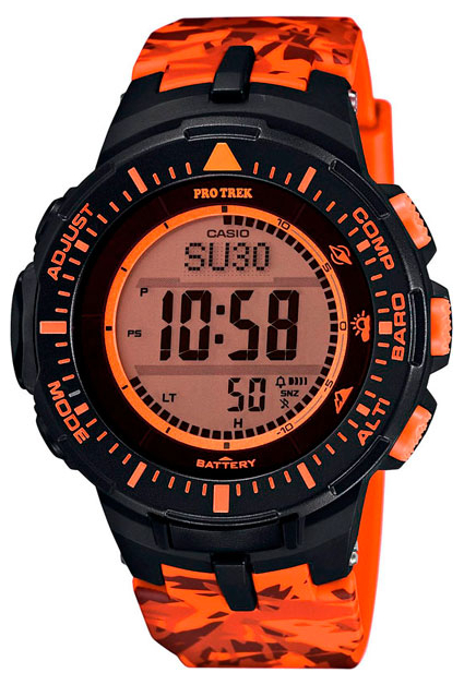Casio Pro Trek PRG-300CM-4E abnormal psychology 4e