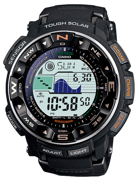 Casio Pro Trek PRW-2500-1E casio prw 5000t 7e casio