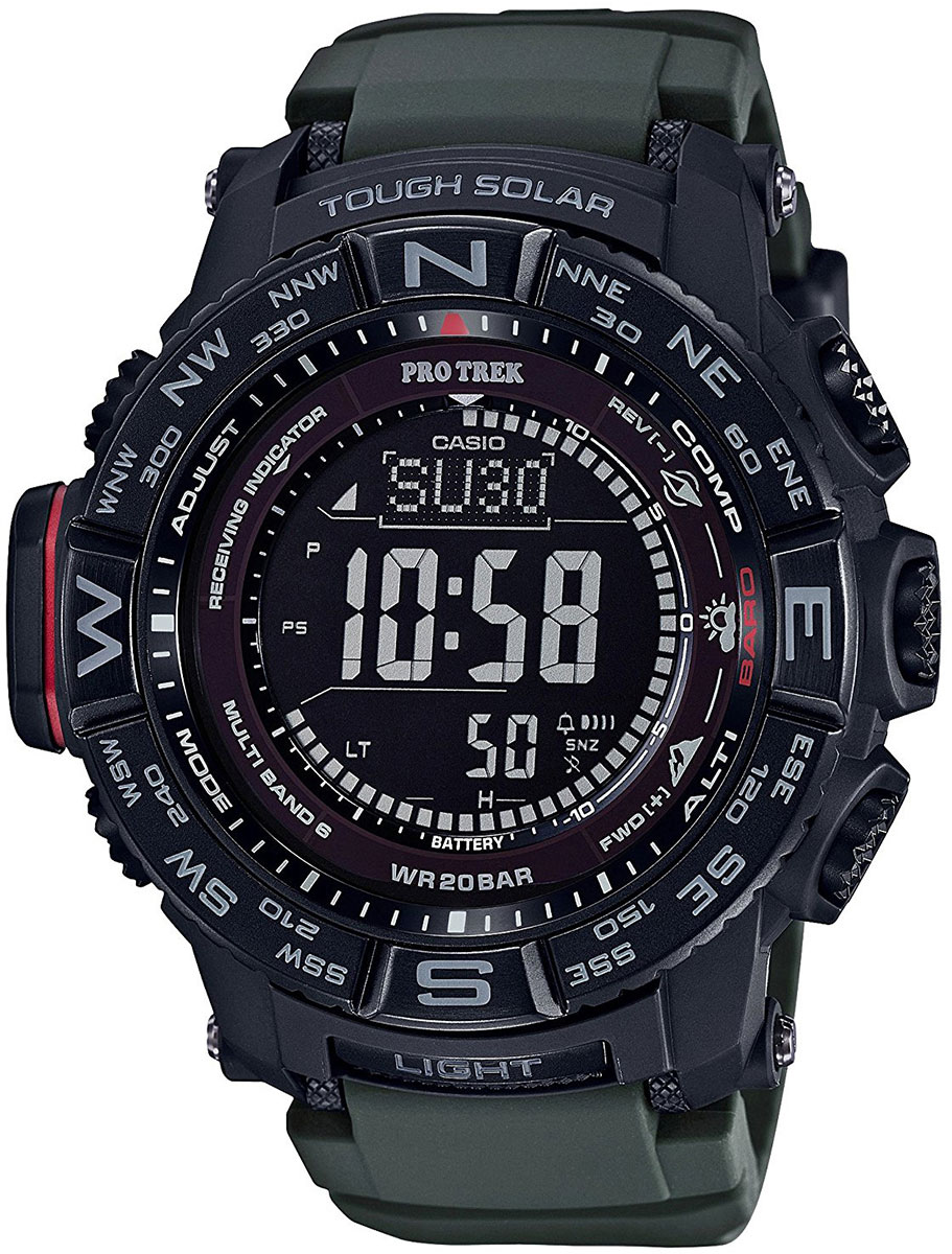 Casio Pro Trek PRW-3510Y-8E casio watches solar outdoor climbing table prw 6100fc 1p prw 6100y 1a prw 6100y 1b prw 6100yt 1b prw 6100y 1p men s watches