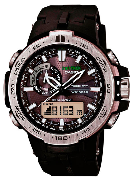 Casio Pro Trek PRW-6000-1E casio prw 5000t 7e casio