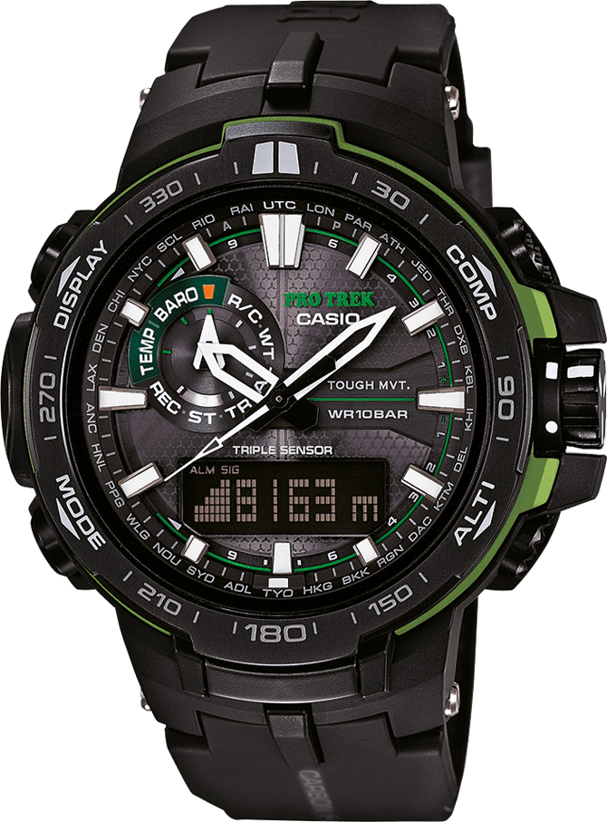 Casio Pro Trek PRW-6000Y-1A casio watches solar outdoor climbing table prw 6100fc 1p prw 6100y 1a prw 6100y 1b prw 6100yt 1b prw 6100y 1p men s watches