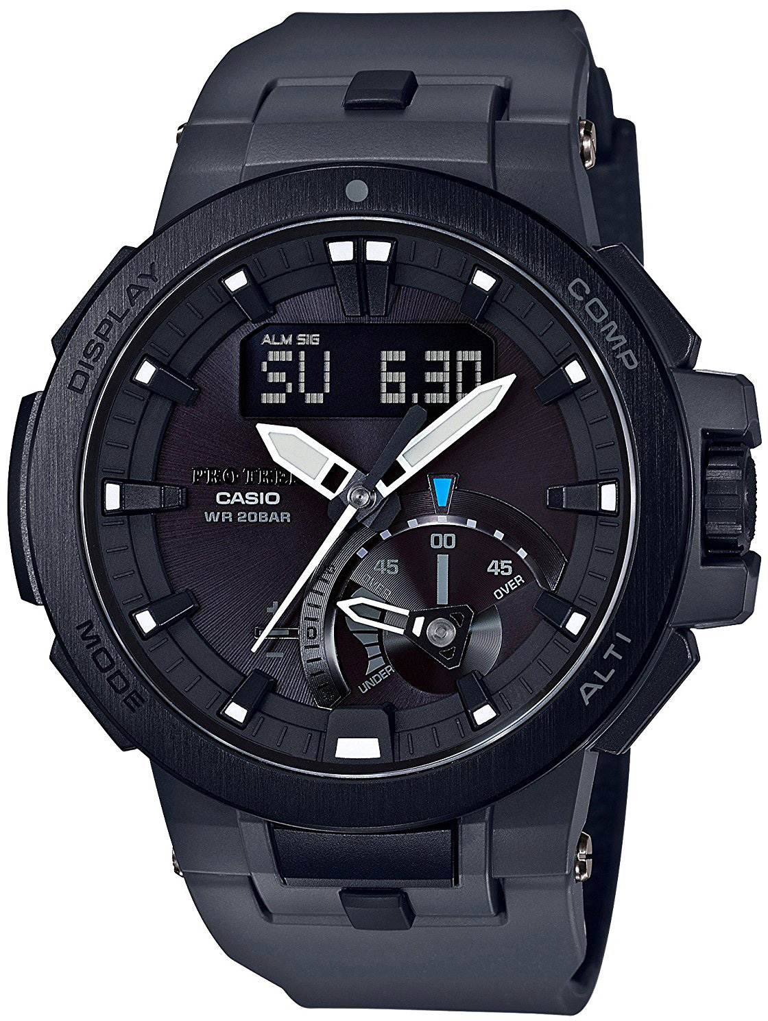 Casio Pro Trek Multi-Field PRW-7000-8E кварцевые часы casio sport prw 6000y 1a black