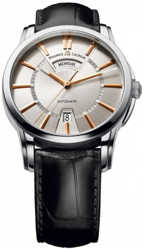 Maurice Lacroix Pontos Day/Date PT6158-SS001-19E-2