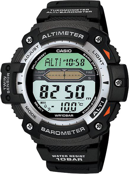 Casio OutGear SGW-300H-1A часы casio collection sgw 300h 1a black