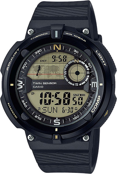 Casio OutGear SGW-600H-9A электронные часы casio collection mcw 200h 9a
