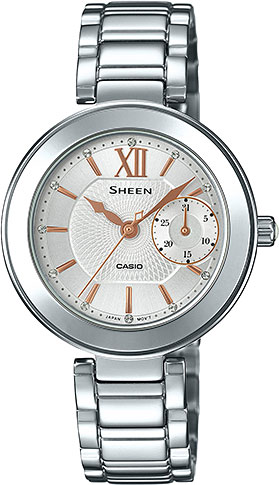 Casio Sheen SHE-3050D-7A casio часы casio she 3049pgl 7a коллекция sheen