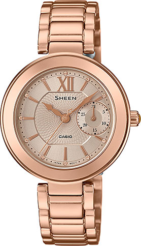 Casio Sheen SHE-3050PG-7A casio часы casio she 3049pgl 7a коллекция sheen