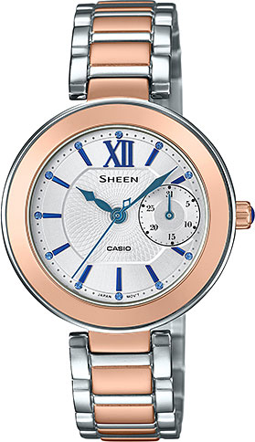 Casio Sheen SHE-3050SG-7A casio she 4022d 7a