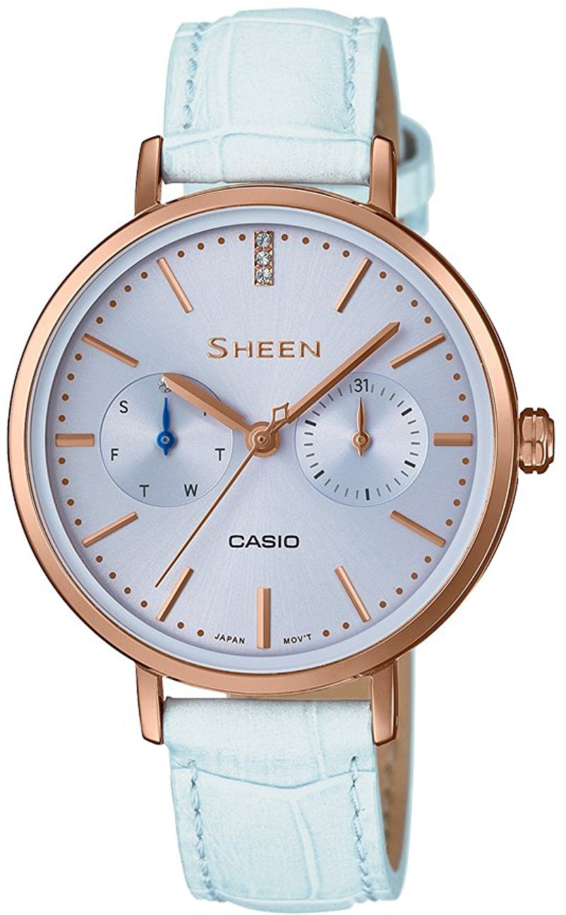 Casio Sheen SHE-3054PGL-2A casio casio she 5516sg 5a